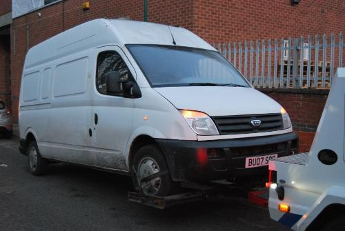 Vehicle seizure allegedly related to A52 fly-tipping