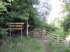 A nature reserve protected by the Nottinghamshire Wildlife Trust.