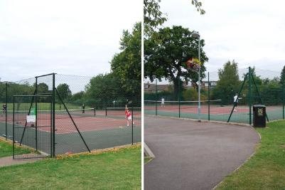 Bridgford Park tennis court