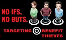 Benefit fraud landing box image