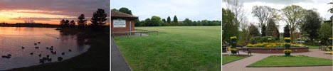 Parks, pitches and play areas